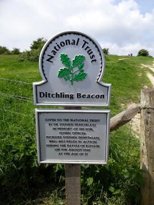 Ditchling sign.
